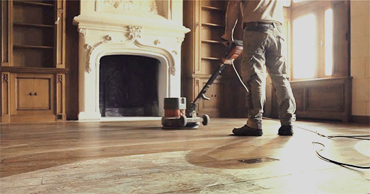 renovation de parquet - ponçage